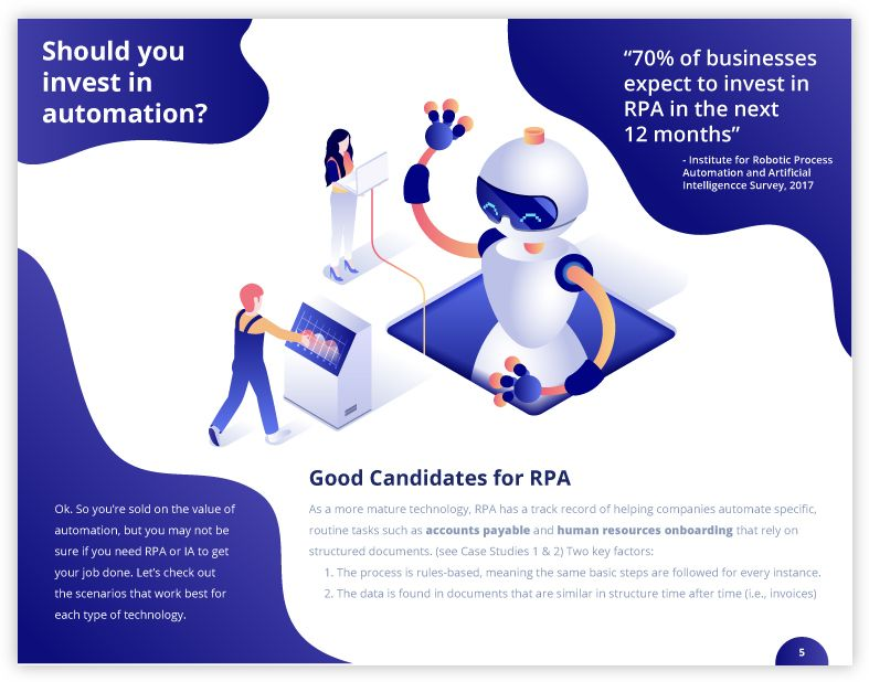 Should you invest in automaiton with RPA Tools