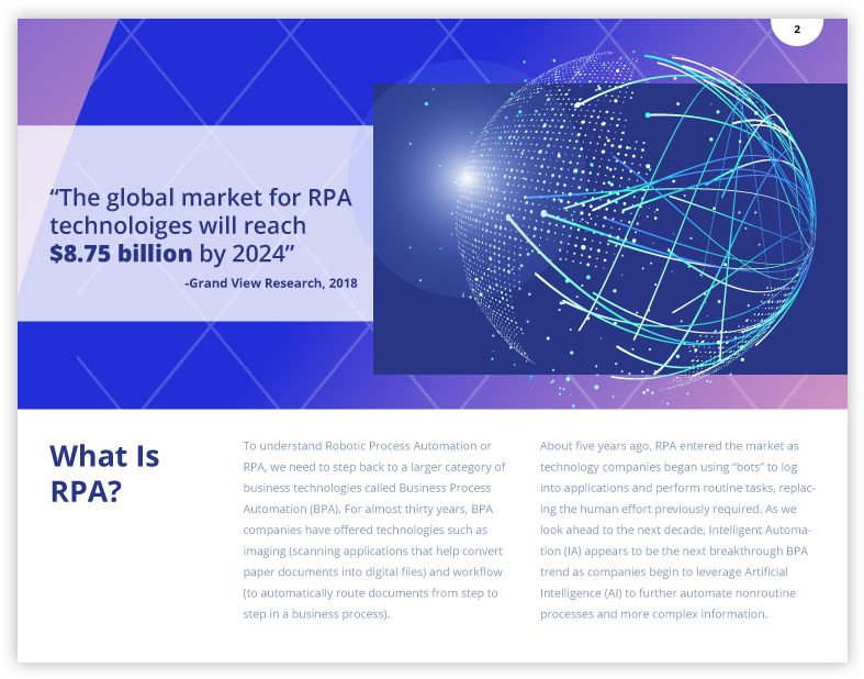 What is rpa and what are rpa tools robotic process automation