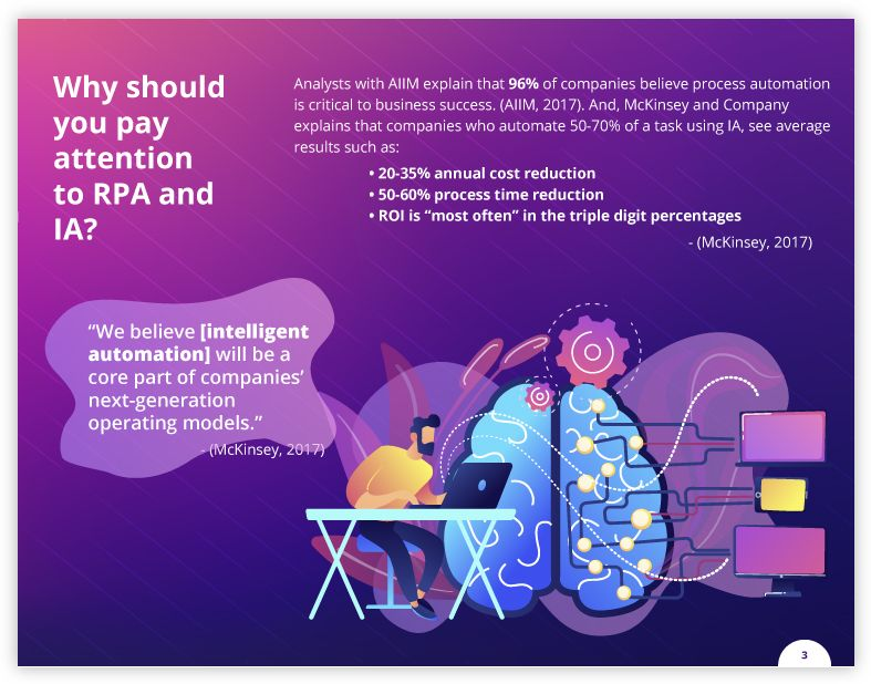 Why you should pay attention to rpa tools and ia information intelligence and robotic process automation